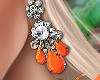 Bali Earrings Orange