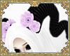 ☽ lilac rose horns 2