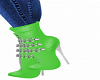 Chained Mint Bootie