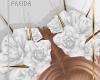 ♀| Rose Crown | White