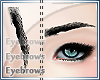 [M0]-Eyebrows Black