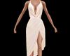 Cowl Satin Dress