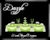 Lime Buffet Table