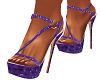 Purple Palma Heels