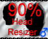 *M* Head Resizer 90%