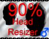 *M* Head Resizer 90%