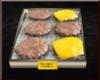 Tray Of  Burger Patties