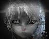2 tone Furry Ghost Head