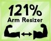 Arm Scaler 121%