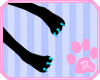 |Blu Claws & Pad Paws!|M