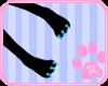 |Blu Claws & Pad Paws!|M