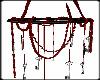 Red/Black Key Chandalier