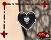 Black Heart Brooch