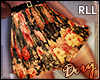 !D FLoral Pleated RLL