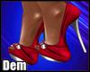 !D! Diana Red Heels