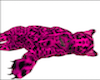 Lazy HOT PINK cheetah