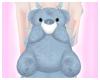 SK| Blue Bear Bag
