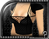 m.. Black Fishnet Top