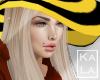 !A hat hair blonde