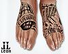 Stay Paid Feet tattoo
