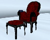 (BR) Goth Reading Chair