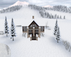 Winter Mountain Cabin