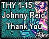 Johnny Reid: Thank You