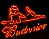 Bud Sign with Girl