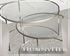 H. MF Side Table Glass