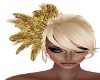 Evita Gold Feathers