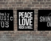 HIPSTER WALL PRINTS I