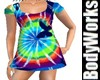 LittleGirls TieDye Dress