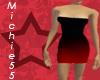 [m55] Sexy Red Dress