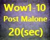 WoW Post Malone