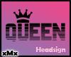 Queen Sign Black