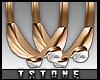 T.Crystal Earrings