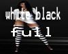 white black full