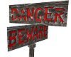 Danger/Beware Sign