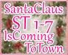 ♥ Kid Santa Town Song