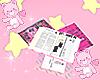 kawaii school books <3