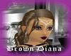 Brown Diana Hair