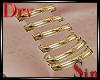 Gold Wrist Bands
