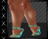 Teal Sexy Heels