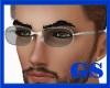 """""""GS"""" SILVER SUN GLASSES"""