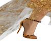 sandale a talon louve