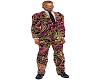 Paisley Dragon suit