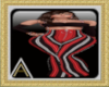 (AL)Striped PantSuit Red