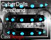 CyberDoll ArmBand Skye