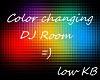 color change dj room