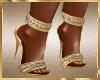 A25 Gold Heels